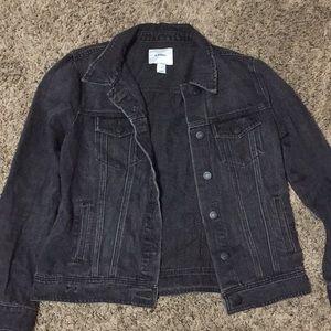 Old Navy Washed Black Denim Jacket